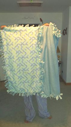 Baby blanket me and Manda made for a friend