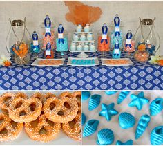 Our #beach themed #baby bash brought the seaside to Idaho!
