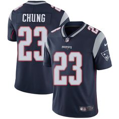 Donte Moncrief jersey Nike Patriots  23 Patrick Chung Navy Blue Team Color  Men s Stitched NFL f3ccc09a7