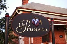 Le Pruneau Retail Sign | Danthonia Designs