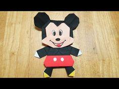 <ディズニー> (16) ミッキーマウスの折り方 (17) くまのプーさんの折り方 (18) ダッフィの折り方・作り方 (19) ディズニーツムツムの折り方