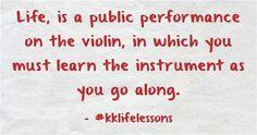 #kklifelessons