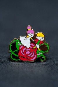 """This is a pin of Grimm's Fairy Tales KHM113 """"The Two Kings' Children""""."""