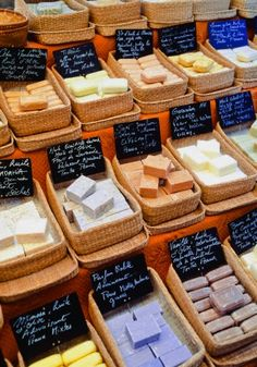 The Aroma...savon de Marseille in the market