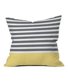 Loving this Hello Twiggs Stripe Outdoor/Indoor Throw Pillow on #zulily by DENY Designs, $28 !!  #zulilyfinds