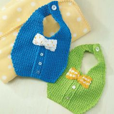 My Crochet Hook Bow Tie Bibs Crochet Pattern Discovering The Beauty Of Landscape Photography Symmetr Crochet Baby Bibs, Crochet Baby Clothes, Crochet For Boys, Crochet Hooks, Baby Boy Bibs, Carters Baby Girl, Baby Hats Knitting, Knitted Hats, Baby Pearls