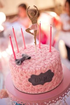 Birthday Party for a Tiny Dancer - Birthday Party Ideas & Shops