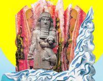 Leaving Babylon by Ramiro Baldivieso, via Behance