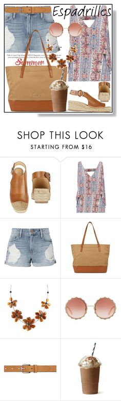 """Step into Summer: Espadrilles"" by beleev ❤ liked on Polyvore featuring rag & bone, Exclusive for Intermix, Frame, Lodis, Dolce&Gabbana, Isabel Marant and espadrilles"