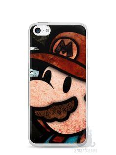 Capa Iphone 5C Super Mario #2 - SmartCases - Acessórios para celulares e tablets :)