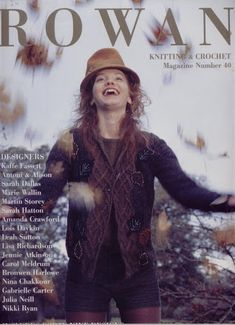 Rowan Knitting & Crochet Magazine № 40 2006 Crochet Book Cover, Crochet Books, Knit Crochet, Rowan Knitting, Knitting Books, Knitting Magazine, Crochet Magazine, Knitting Designs, Knitting Patterns