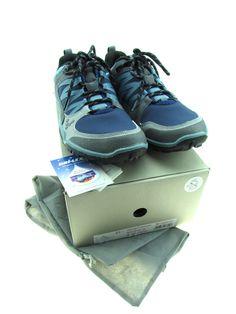 1107ba9d8 Men s VIVOBAREFOOT Neo Trail Navy Blue Dri-Lex Athletic Shoes Size 11US  45EU NIB All