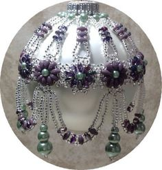 Image result for Free Beaded Christmas Ornament Covers