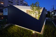 exterior modern Hapanese home