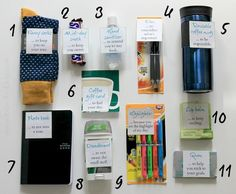 Job Survival Kit DIY Do you know someone starting a new job? Give them a boost with this New Job Survival Kit tutorial.Do you know someone starting a new job? Give them a boost with this New Job Survival Kit tutorial. New Job Survival Kit, Survival Kit Gifts, Survival Tools, Nursing Survival Kit, Office Survival Kit, Survival Equipment, Homestead Survival, Camping Survival, Survival Guide