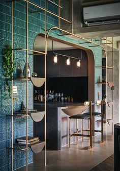 Restaurant Interior Design, Shop Interior Design, Retail Design, Design Café, Cafe Design, House Design, Architecture Restaurant, Interior Architecture, Studio House