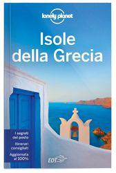 """""""Lambite da scintillanti acque blu e e punteggiate di rovine sbiancate dal sole, le isole greche stimoleranno la vostra fantasia con i loro miti, l'appetito con i sapori locali e lo spirito con l'atmosfera rilassante."""" Korina Miller, Autrice Lonely Planet"""