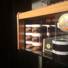 Suavecito pomade in the late afternoon autumn sun at Dude Hut