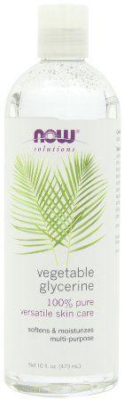 Common ingredient in DIY skin and home care. #conveyawareness Vegetable #Glycerin.