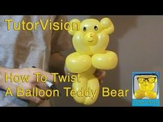 How To Twist A Balloon Teddy Bear - TutorVision Tutorial super cute but you have to hold alot of bubbles before you start locking them into place. Kept on loosing my bubbles.