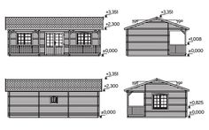 Plano 2 Casa de Madera Wendy