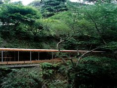 Horai Onsen Bath House   kengo kuma and associates