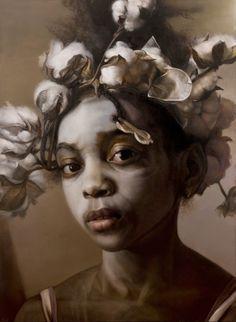 Margaret Bowland's Schilderijen van Little People en Little Girls | Hi-Fructose Magazine