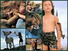 Tippi Degre was raised in Namibia among wild animals.  She was also taught by Himba people to live on roots and berries.