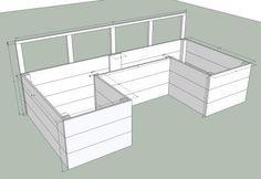 DIY Furniture : DIY Dynamic Raised Garden Bed Plans