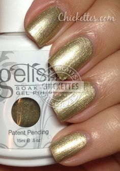 Gelish Meet the King Swatch - Year of the Snake Collection
