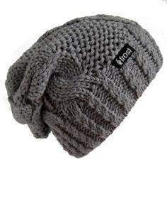 9924b00d378 Frost Hats Winter Hat for Women Slouchy Beanie Hat Knitted Winter Hat Frost  Hats