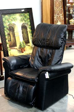 Hawaiian Lomi Back Massage Chair (21371-1) - Consignment Northwest
