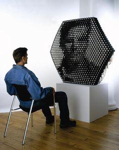 Daniel Rozin's Interactive Mirror Sculptures