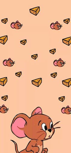 Disney Phone Wallpaper, Funny Phone Wallpaper, Cartoon Wallpaper Iphone, Iphone Wallpaper Tumblr Aesthetic, Iphone Background Wallpaper, Cute Cartoon Wallpapers, Cute Fall Wallpaper, Cute Patterns Wallpaper, Tom And Jerry Wallpapers