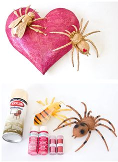 Daily Delight: Easy DIY #Valentine Love Bugs — Don't Cringe! (http://blog.hgtv.com/design/2013/02/08/daily-delight-diy-valentine-love-bugs/?soc=pinterest)