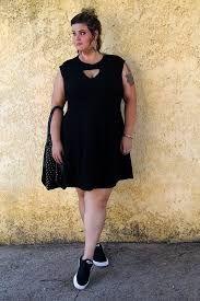 Resultado de imagem para vestido e tênis gorda