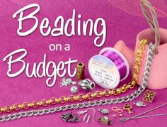 Beading on a Budget? Find great products and jewelry design ideas on this page: http://www.artbeads.com/beading-on-a-budget.html