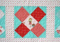 Miss Strawberry X - the simple life fabric by tasha noel