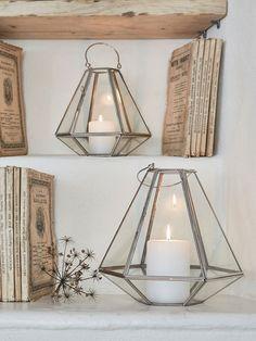 geometric lanterns - nordic house