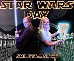 Star Wars Day fundraiser hosted by Surprise Dental & Denture Dental Dentures, Cleft Lip, Star Wars Day, Talent Show, Fundraising Ideas, Do Everything, Charity, Train, Stars