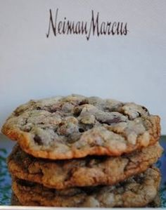 Copycat recipe for Neiman Marcus Million Dollar Cookies featured on koshereye.com