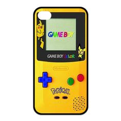 Game Boy Pokemon cell phone case for iPhone 4s 5s 5c 6 Plus iPod touch 4 5 th Samsung Galaxy s2 s3 s4 s5 mini note 2 3 4 cases