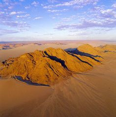 namibia | Remote northern Namibia, aerial view