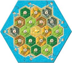 7 Best Catan Board Build images in 2014 | Catan board, Settlers of Pat Catan World Map Laminated on