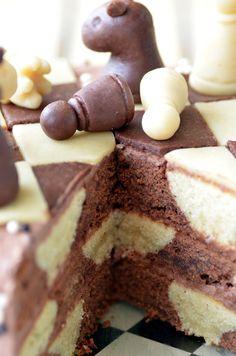ninas kleiner food blog schachbrett torte