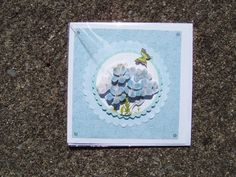3D decoupage greetings card by CrowCottageCrafts on Etsy, $3.00