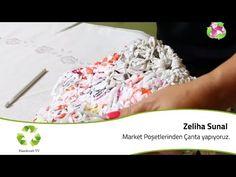 Market Poşetlerinden Çanta yapıyoruz - YouTube