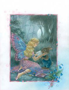 Wipe Away The Tears~ by Shirley Barber Art