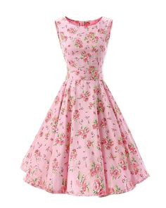SaiDeng Women 50s Retro Style Rockabilly Swing Evening Dress: Amazon.co.uk: Clothing