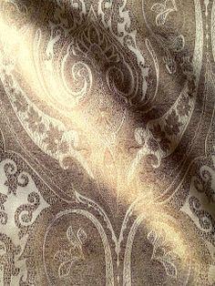 silk woven jaccquard soft furnishing fabrics